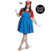 Super Mario: Mario w/Skirt Adult Costume Plus
